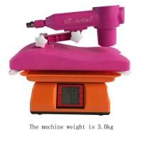 Adjustable portable sex machine with 3XLR dildo
