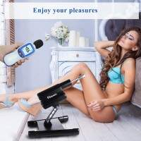 Hismith remote controlled Cannon series sex machine complete with body-safe dildo