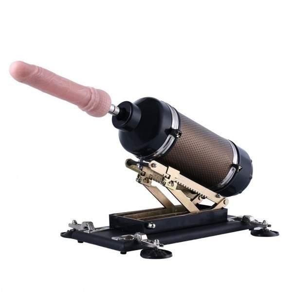 Económica Máquina Folladora Supermática (Programada) de Hismith con Dildo de Máquina Sexual Estándar 3XLR