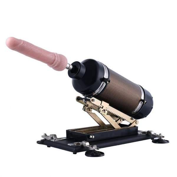 Hismith affordable supermatic fucking machine with 3xlr standard sex machine dildo